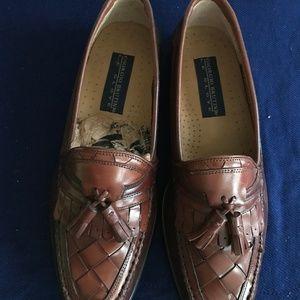 Giorgio Brutini Men's Two-tone Dark Tan Shoes-